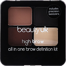 Düfte, Parfümerie und Kosmetik Lidschattenpalette - Beauty UK High Brow and Eyebrow Kit