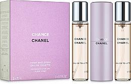 Düfte, Parfümerie und Kosmetik Chanel Chance - Eau de Toilette (2x20ml Refill + 1x20ml Parfümzerstäuber)