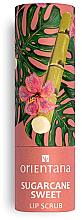 Düfte, Parfümerie und Kosmetik Lippenpeeling Zuckerrohr - Orientana Sugarcane Sweet