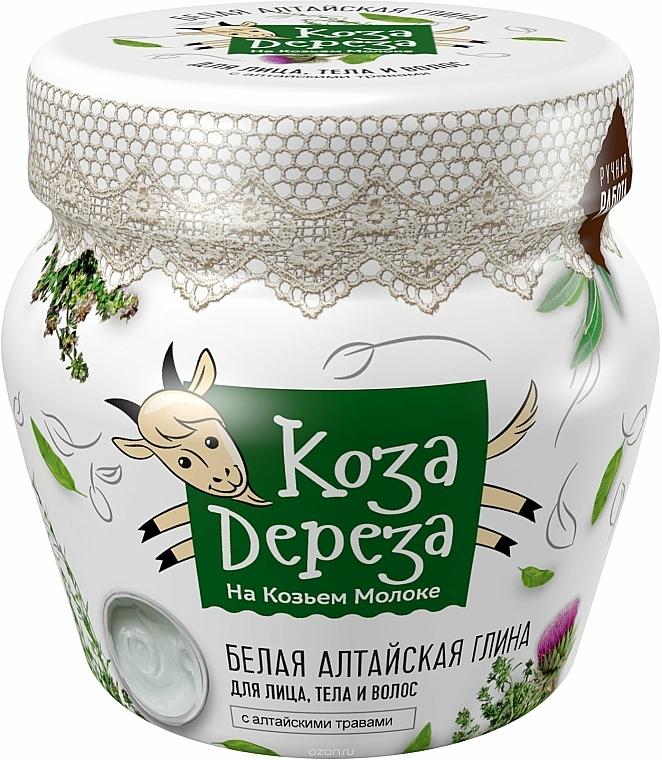 Weiße altaische Tonerde für Gesicht, Körper und Haare - Fito Kosmetik Koza Dereza