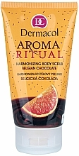 Harmonisierendes Cremepeeling für den Körper mit belgischer Schokolade - Dermacol Body Aroma Ritual Harmonizing Body Scrub — Bild N1