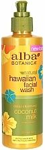 Düfte, Parfümerie und Kosmetik Hypoallergener Gesichtsreiniger mit Kokosmilch - Alba Botanica Natural Hawaiian Facial Wash Deep Cleansing Coconut Milk