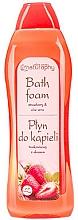 Düfte, Parfümerie und Kosmetik Badeschaum mit Erdbeere und Aloe Vera - Bluxcosmetics Naturaphy Strawberry & Aloe Vera Bath Foam