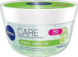 Düfte, Parfümerie und Kosmetik Gesichtsgel-Creme mit Gurkenextrakt - Nivea Care Fresh Hydro Gel