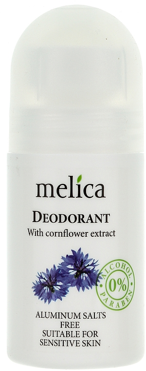 Deo Roll-On mit Kornblumenextrakt - Melica Organic With Camomile Extract Deodorant