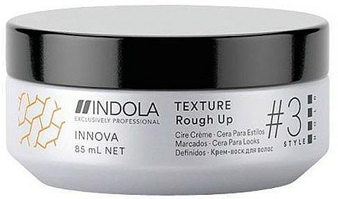 Texturierendes Haarcreme-Wachs - Indola Innova Texture Rough Up