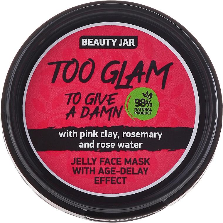 Gelee-Maske für das Gesicht mit Liftingeffekt - Beauty Jar Too Glam To Give A Damn Face Mask