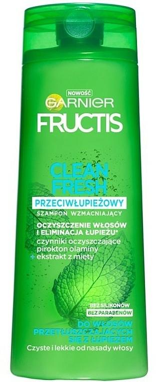 Anti-Schuppen Shampoo für fettiges Haar - Garnier New Fructis Clean Fresh Shampoo