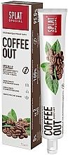 Düfte, Parfümerie und Kosmetik Zahnpasta zur Entfernung der Tee- und Kaffeeflecken - SPLAT Cofee Out