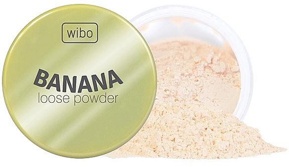 Wibo Banana Loose Powder - Loser Bananepuder