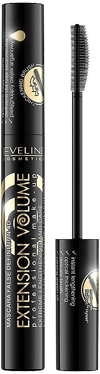 Verlängernde Wimperntusche - Eveline Cosmetics Extension Volume Professional Make-Up