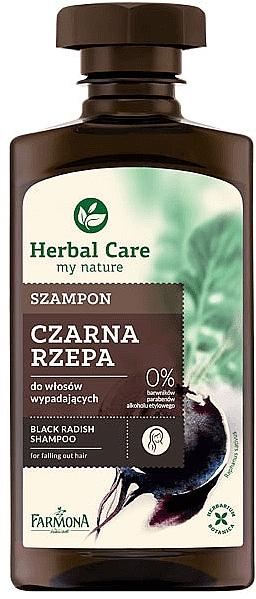 Shampoo gegen Haarausfall mit schwarzem Rettich - Farmona Herbal Care