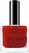 Düfte, Parfümerie und Kosmetik Nagellack - Alessandro International Hybrid Soul Gel Polish (Velvet Red)