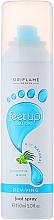 Düfte, Parfümerie und Kosmetik Erfrischendes Fußspray mit Eukalyptus und Minze - Oriflame Feet Up Comfort Reviving Foot Spray