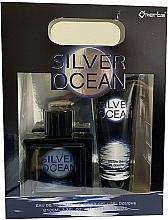 Düfte, Parfümerie und Kosmetik Omerta Silver Ocean - Duftset (Eau de Toilette 100ml + Duschgel 100ml)