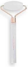 Düfte, Parfümerie und Kosmetik Massageroller für das Gesicht aus weißem Quarz - Revolution Skincare Clear Quartz Roller