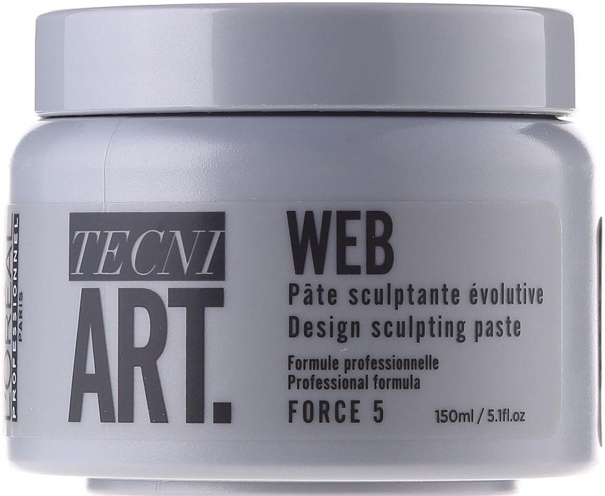 Modellierende Haarpaste für mehr Glanz - L'Oreal Professionnel Tecni.art A-Head Web Force 5