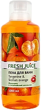 Düfte, Parfümerie und Kosmetik Schaumbad mit Mandarine und sizilianischer Orange - Fresh Juice Tangerine and Sicilian