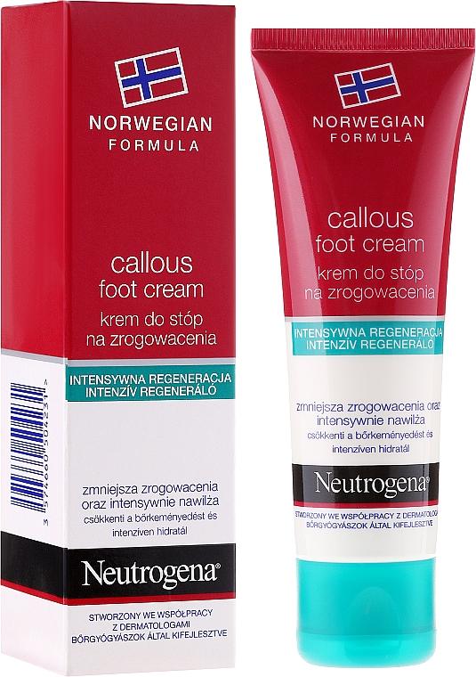 Fußcreme gegen Verhornung - Neutrogena Callous Foot Cream