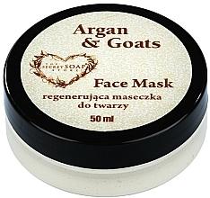 Düfte, Parfümerie und Kosmetik Gesichtsmaske Argan und Ziegenmilch - The Secret Soap Store Argan & Goats Face Mask