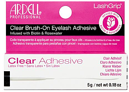 Düfte, Parfümerie und Kosmetik Wimpernkleber mit Biotin und Rosenwasser - Ardell Clear Brush-on Eyelash Adhesive