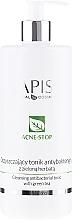 Düfte, Parfümerie und Kosmetik Antibakterielles Gesichtsreinigungstonikum mit Extrakt aus grünem Tee - APIS Professional Cleansing Antibacterial Tonic