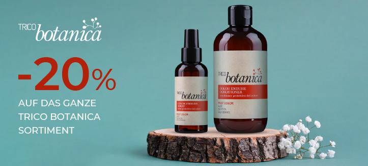 20% Rabatt auf das ganze Trico Botanica Sortiment. Die Preise auf der Website sind inklusive Rabatt