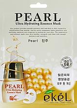 Düfte, Parfümerie und Kosmetik Feuchtigkeitsspendende Tuchmaske mit Perlenextrakt - Ekel Pearl Ultra Hydrating Essence Mask