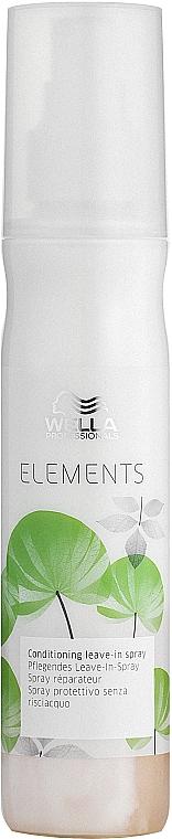 Feuchtigkeits-Conditioner ohne Ausspüllen - Wella Professionals Elements Conditioning Leave-in Spray