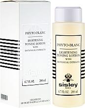 Gesichtslotion für Make-up-Entfernung mit Pflanzenextrakten - Sisley Phyto-Blanc Lightening Toning Lotion — Bild N1