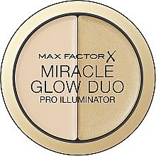 Düfte, Parfümerie und Kosmetik Schimmernder Highlighter Duo - Max Factor Miracle Glow Duo