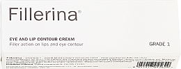 Düfte, Parfümerie und Kosmetik Augen- und Lippenkonturcreme Klasse 1 - Fillerina Eye And Lip Contour Cream Grade 1