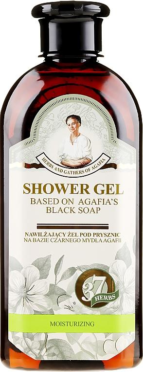 Traditionelles sibirisches Duschgel auf Basis von schwarzer Seife - Rezepte der Oma Agafja