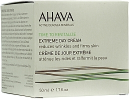 Düfte, Parfümerie und Kosmetik Straffende Anti-Falten Tagescreme - Ahava Extreme Day Cream