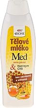 Düfte, Parfümerie und Kosmetik Regenerierende Körperlotion mit Honig und Q10 - Bione Cosmetics Honey & Q10 Regenerative Body Lotion With Vitamin E