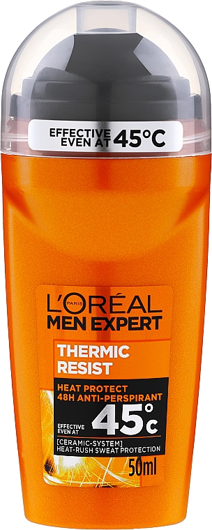 Deo Roll-on Antitranspirant - L'Oreal Paris Men Expert Thermic Resist Clean Cool Deo Roll-On