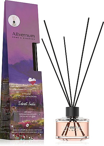 Raumerfrischer Secret Of India - Allvernum Home & Essences The Secret Of India Diffuser Fragrance Sticks