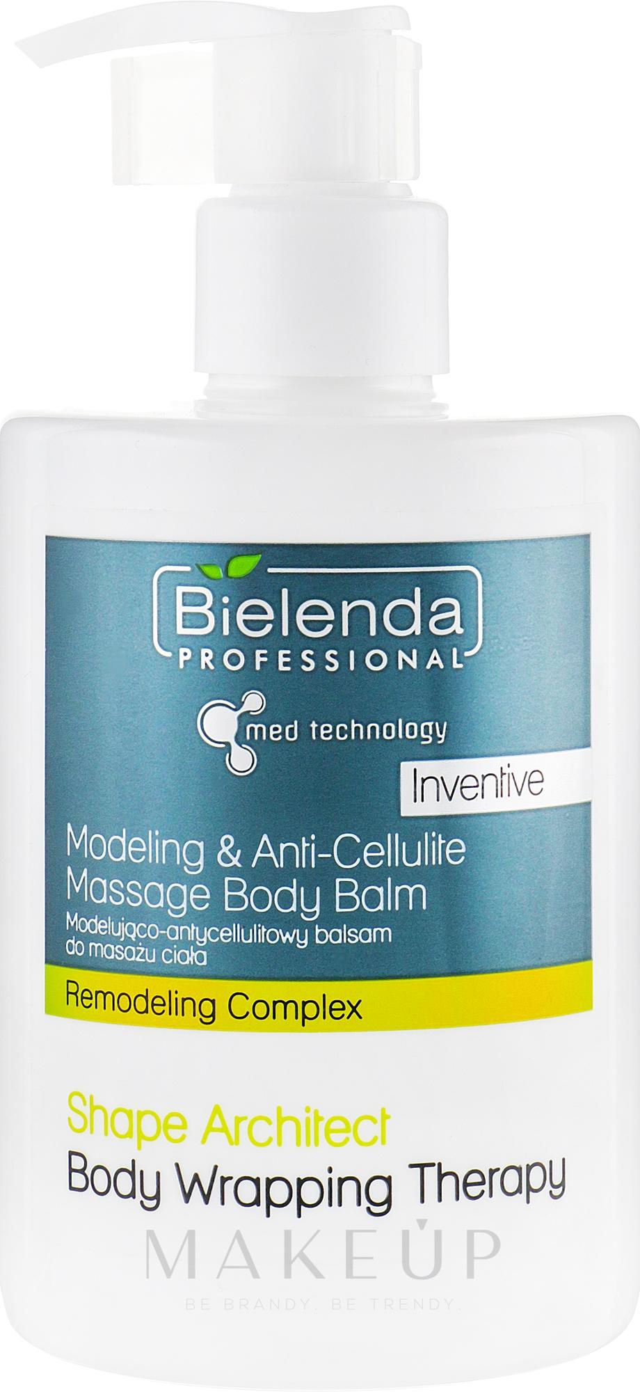 Anti-Cellulite-Körperbalsam - Bielenda Professional Med Technology Massage Body Balm — Bild 300 ml