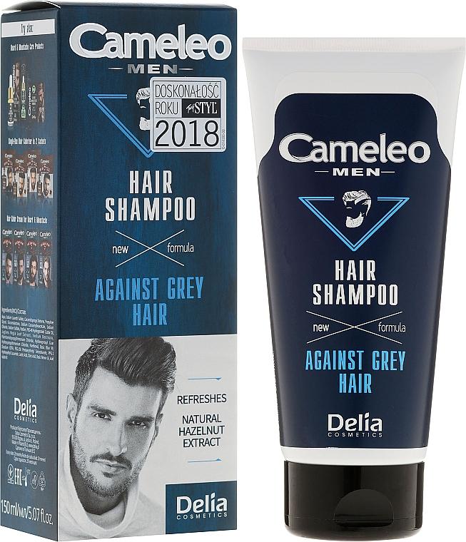 Shampoo gegen graues Haar für Männer - Delia Cameleo Men Against Grey Hair Shampoo