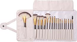 Düfte, Parfümerie und Kosmetik Make-up Pinselset 18-tlg. - Lewer
