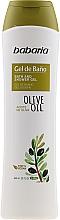 Düfte, Parfümerie und Kosmetik Feuchtigkeitsspendende Duschcreme mit Olivenöl - Babaria Fragrances Bath Gel With Olive Oil