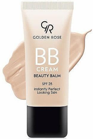 BB Creme für einen perfekten Teint mit LSF 25 - Golden Rose BB Cream Beauty Balm