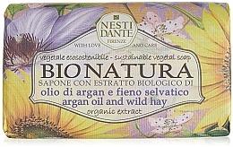 Düfte, Parfümerie und Kosmetik Naturseife Argan Oil & Wild Hay - Nesti Dante Vegetable Soap Bio Natura Collection