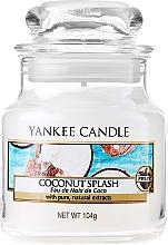 Düfte, Parfümerie und Kosmetik Duftkerze im Glas Coconut Splash - Yankee Candle Coconut Splash Jar