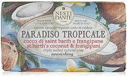 Düfte, Parfümerie und Kosmetik Naturseife St.Barth Coconut & Frangipani - Nesti Dante Nourishing Vegetable Soap Paradiso Tropicale Collection