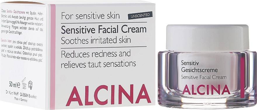 Gesichtscreme für empfindliche Haut - Alcina S Sensitive Facial Cream