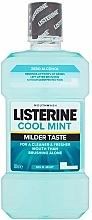 Düfte, Parfümerie und Kosmetik Erfrischende Mundspülung mit Minze - Listerine Cool Mint Mild Taste