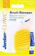 Düfte, Parfümerie und Kosmetik Interdentalbürsten Clinic L 0,7 mm gelb 10 St. - Jordan Brush Between