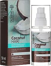 Düfte, Parfümerie und Kosmetik Feuchtigkeitsspendendes Haaröl mit Kokosnuss - Dr. Sante Coconut Hair
