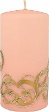 Düfte, Parfümerie und Kosmetik Dekorative Kerze rosa 7x14 cm - Artman Christmas Ornament